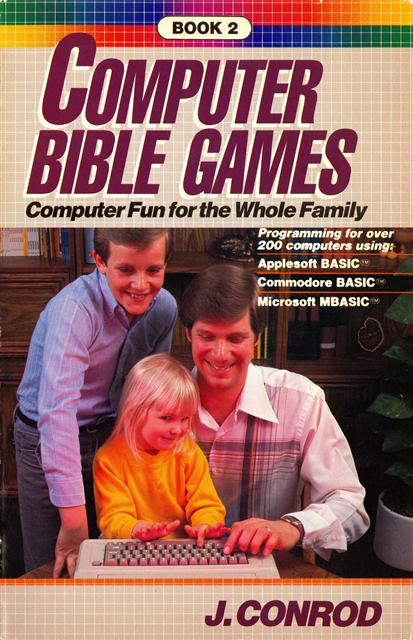 Computer Bible Games Book 2 1984 Conrod