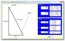 Right Triangle Simulation