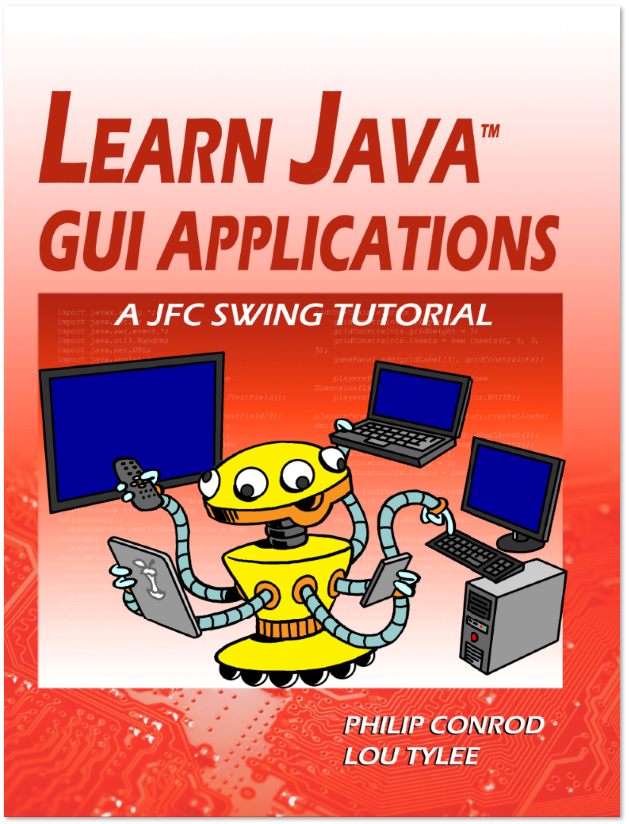Learn Java Gui Applications By Philip Conrod And Lou Tylee A