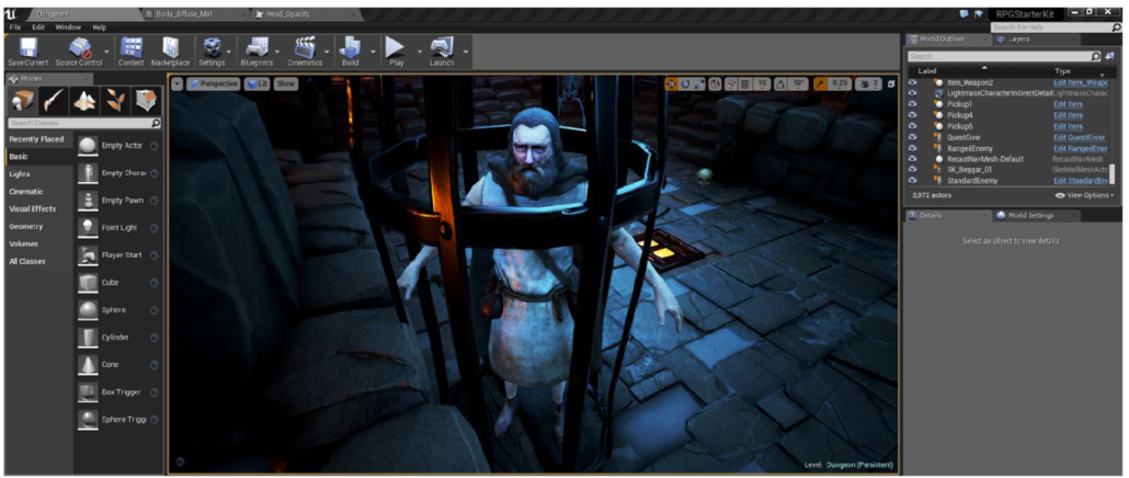 Beginning Unreal Game Engine 4 RPG Blueprint Game Development